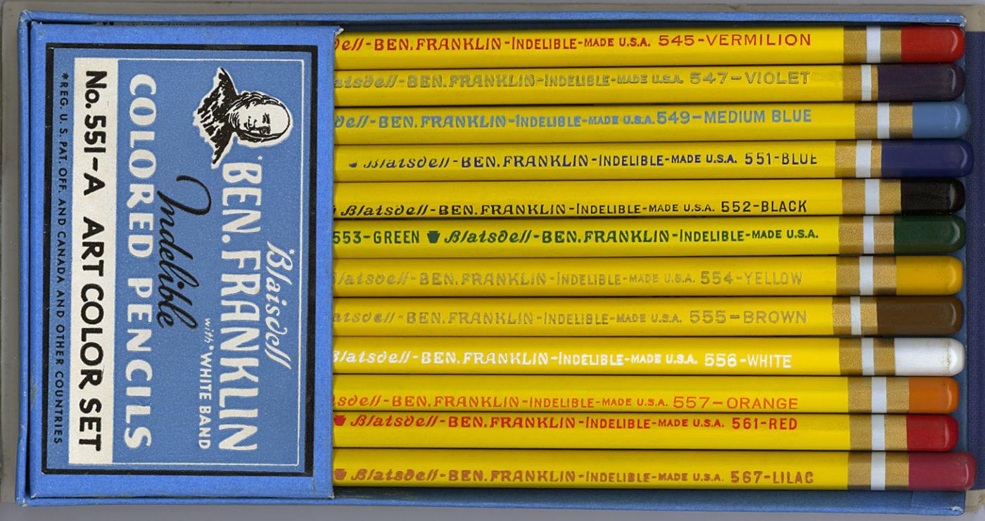 Ben Franklin Indelible No.551-A
