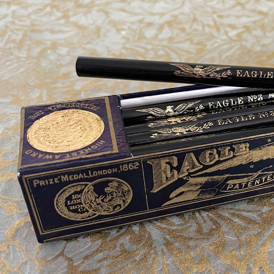 Eagle No.3 pencil with box