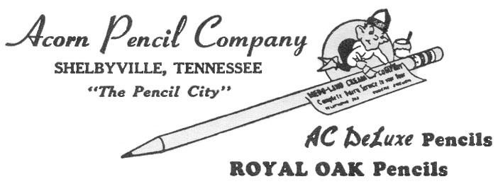 Acorn Pencil Co.
