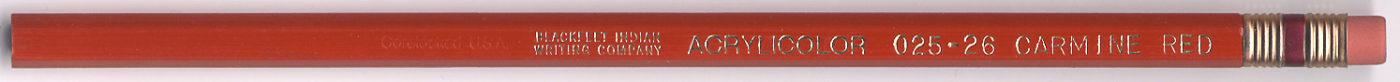 Acrylicolor 025-26 Carmine