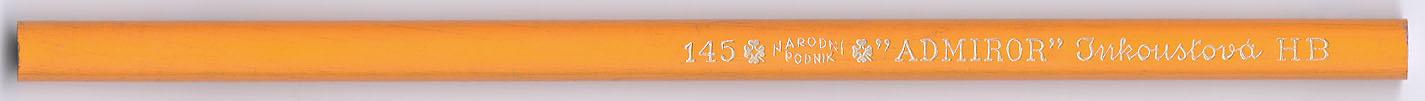 """Admiror"" Inkoustova 145 HB"