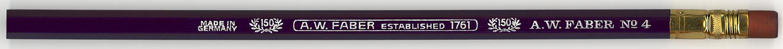 A.W. Faber Established  1761 No.4