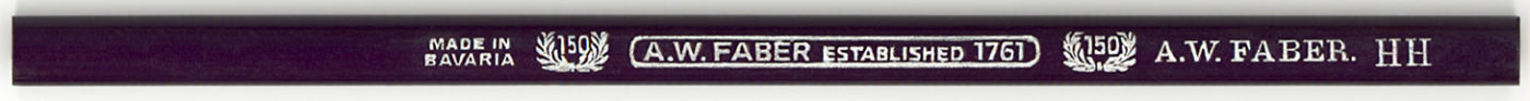 A.W. Faber 150 Anniv. HH