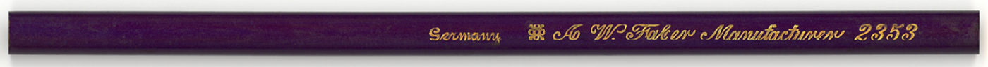 A.W. Faber Manufacturer 2353
