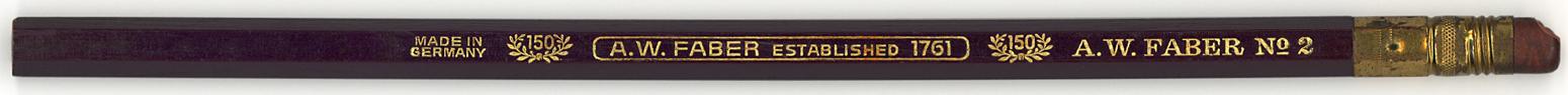 A.W. Faber Established  1761 No.2
