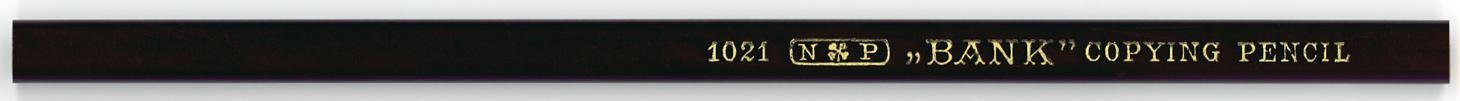 """Bank"" Copying Pencil 1021"