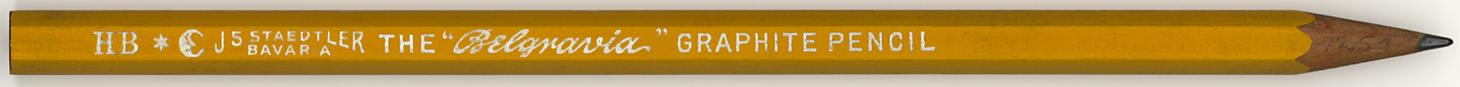 """The """"Belgravia"""" Graphite Pencil HB"""