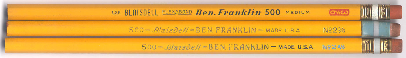 Ben Franklin 500 No.2 3/6