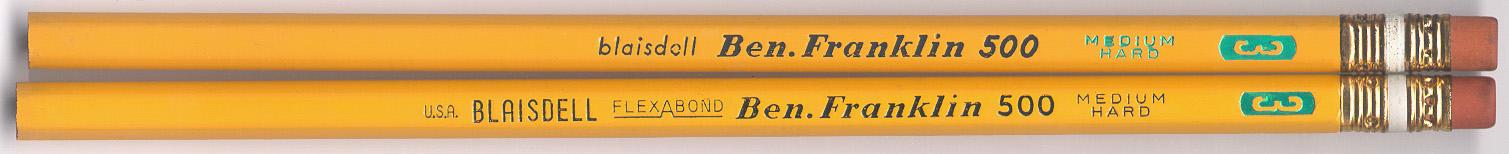 Ben Franklin 500 No. 3