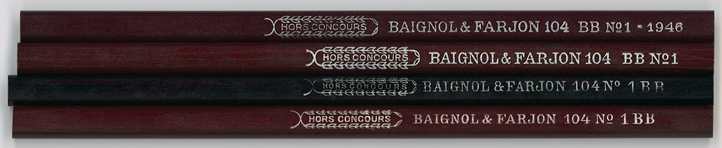 Hors Concours 104 BB No. 1