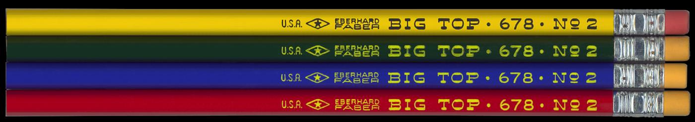 Eberhard Faber Big Top 678