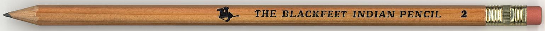The Blackfeet Indian Pencil