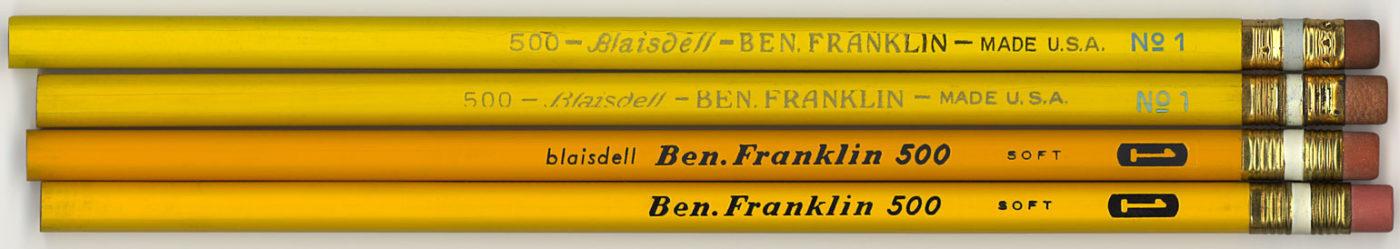 Ben Franklin 500 No.1