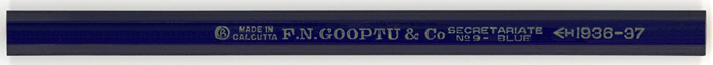 Secret Ariate Blue No.9 1936-37