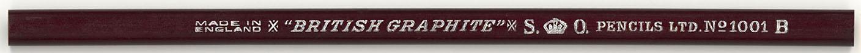 """""""British Graphite"""" No. 1001 B"""
