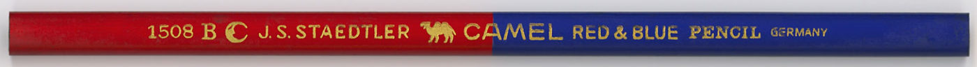 Camel 1508 B Red & Blue
