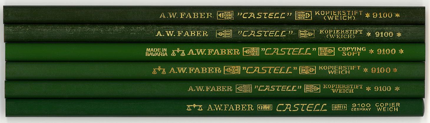 """""""Castell"""" Kopierstift 9100 Weich"""