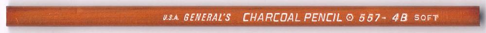 Charcoal 557 4B Soft