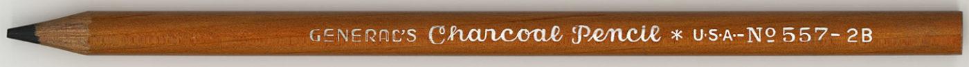 Charcoal No.557 - 2B