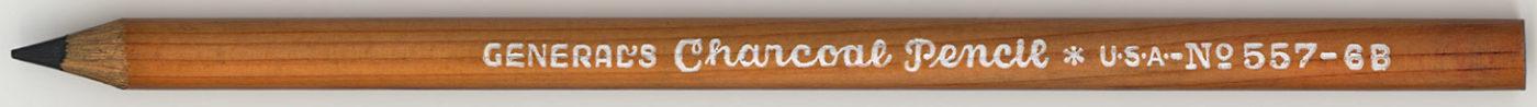 Charcoal No.557 - 6B