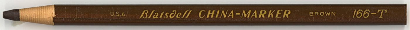 China-Marker 166-T Brown