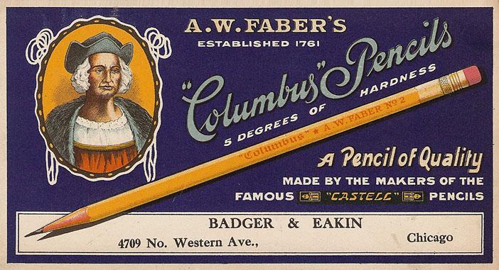 Columbus Pencils