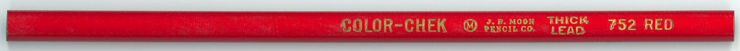 Color-Chek 752 Thick Lead Red