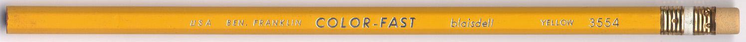 Ben Franklin Color-Fast 3554