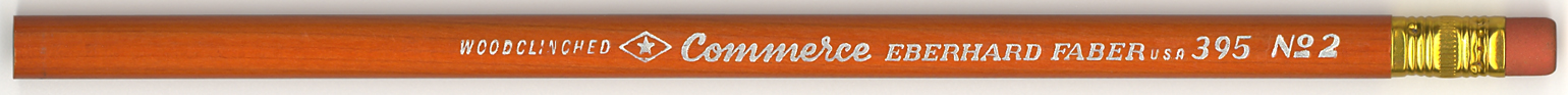 Commerce pencil by Eberhard Faber