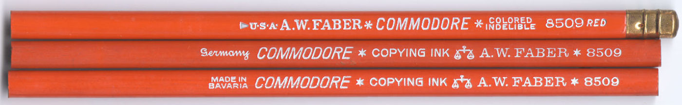 Commodore Copying Ink 8509 Red