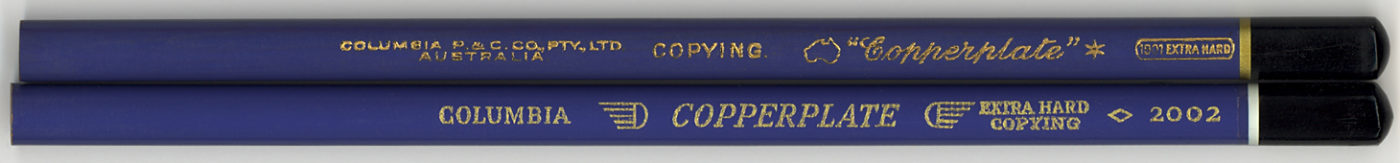 """Copperplate"" Copying 2002 ExHard"