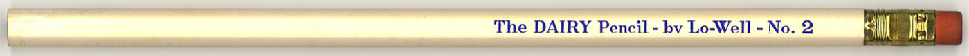 The Dairy Pencil