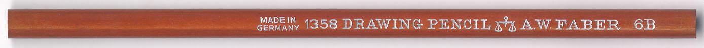 Drawing Pencil  1358 6B