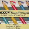 Dupligraph Copying  Pencils