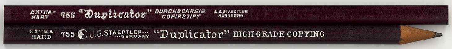 """""""Duplicator"""" Copierstif 755 Ex Hart"""