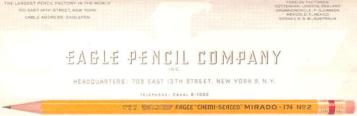 Eagle Pencil Co.