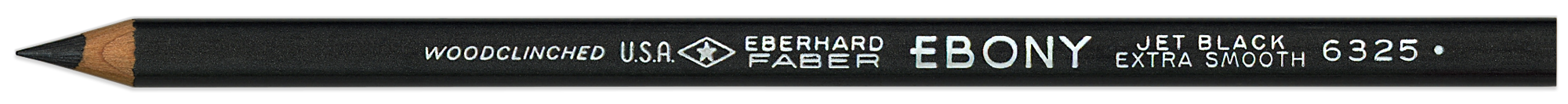 Ebony pencil by Eberhard Faber