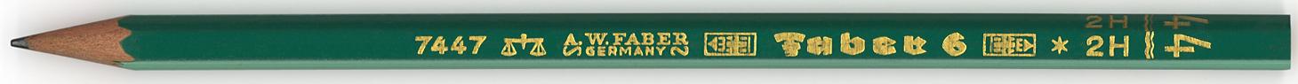 Faber 6 7447 2H = 4