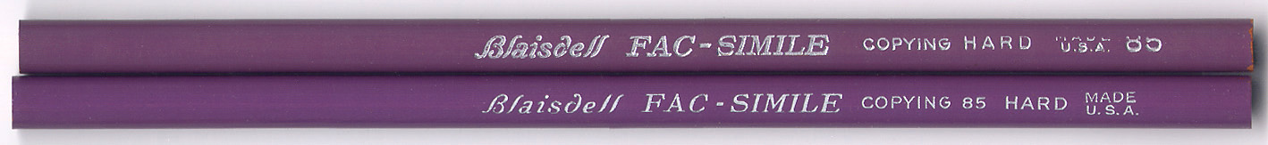 Fac-Smilie Copying 85 Hard
