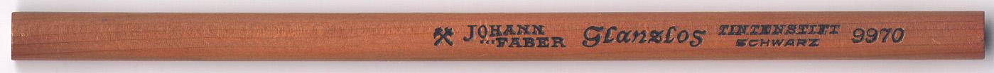 Glanzlos Tintenstift Schwarz 9970