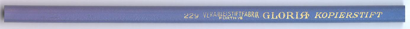 Gloria Kopierstift 229