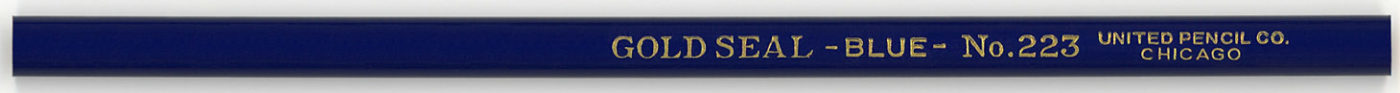 Gold Seal - Blue - No. 223