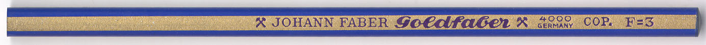Goldfaber Cop.  4000 F=3