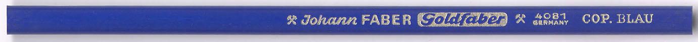 Goldfaber Cop.  4081 Blau