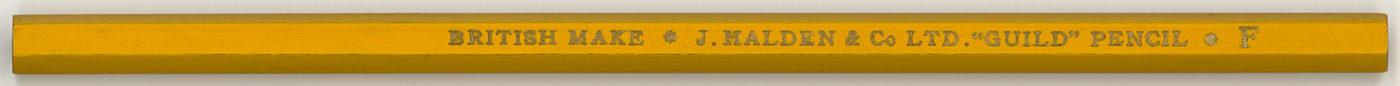 """""""Guild"""" Pencil F"""