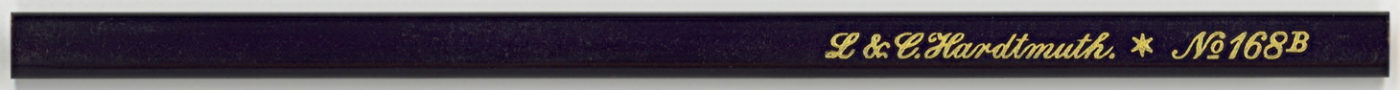 L&C Hardtmuth No. 168 B