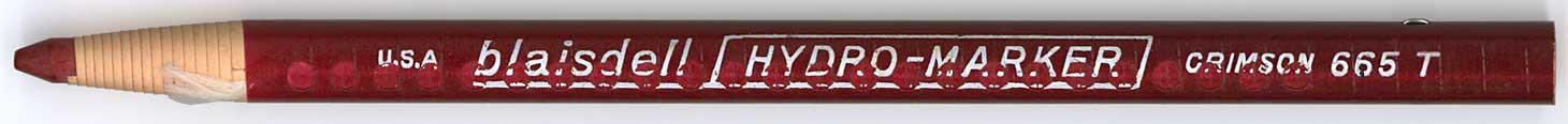 Hydro-Marker 665 T Crimson