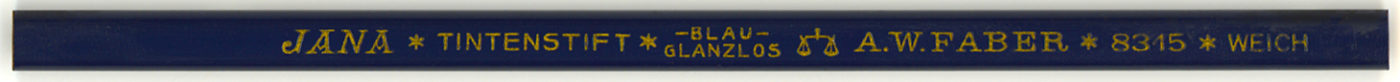 Jana Tintenstift Blau 8315 Weich