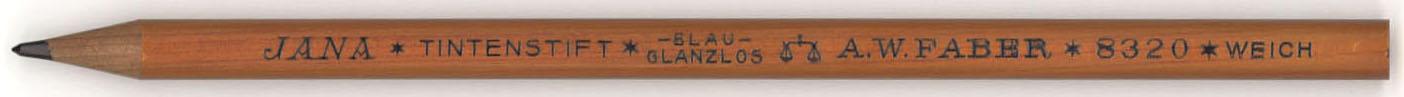 Jana Tintenstift Blau 8320 Weich