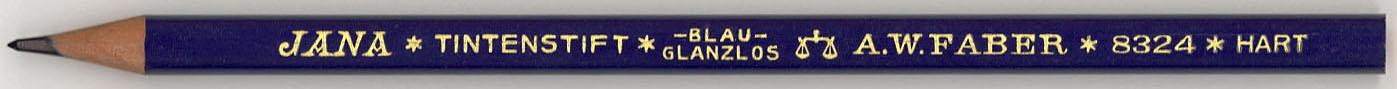 Jana Tintenstift Blau 8324 Hart